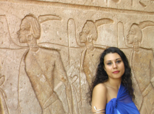 I REMEMBER: Susan Elsa Official Album Cover Shoot at Abu Simbel/Egypt © Nov 2010