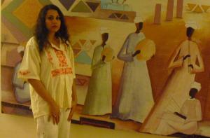 Aswan Hotel Floor: Nubyan Arts & Music ©