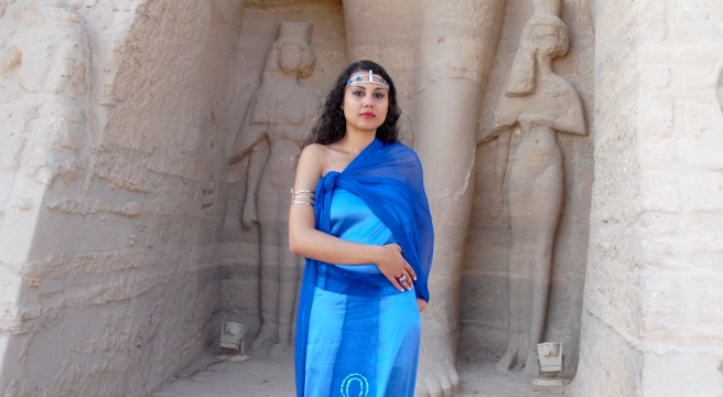 Susan Elsa Official Album Cover Shoot at Abu Simbel/Egypt © Nov 2010