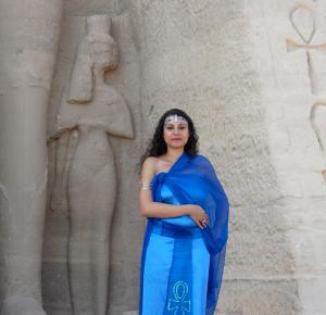 Susan Elsa Official Album Cover Shoot at Abu Simbel/Egypt © Nov 2010