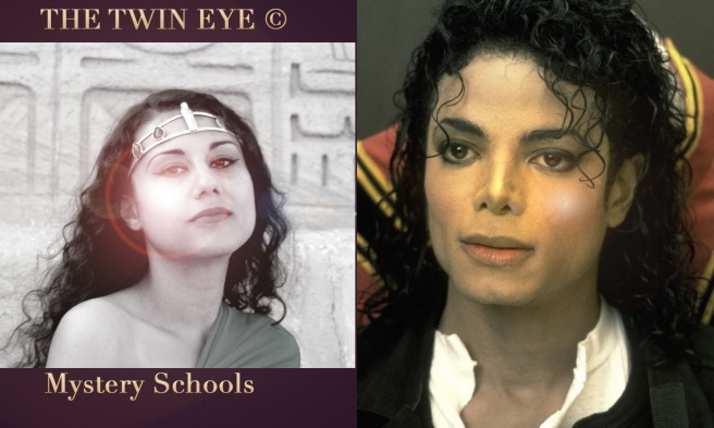 TWIN EYE Mystery Schools Project: TRUE STORY BASIS BEHIND LOGO DESIGNS © Twin Flame Souls Susan Elsa Michael Jackson Ancient Egypt Knowledge Remember ©