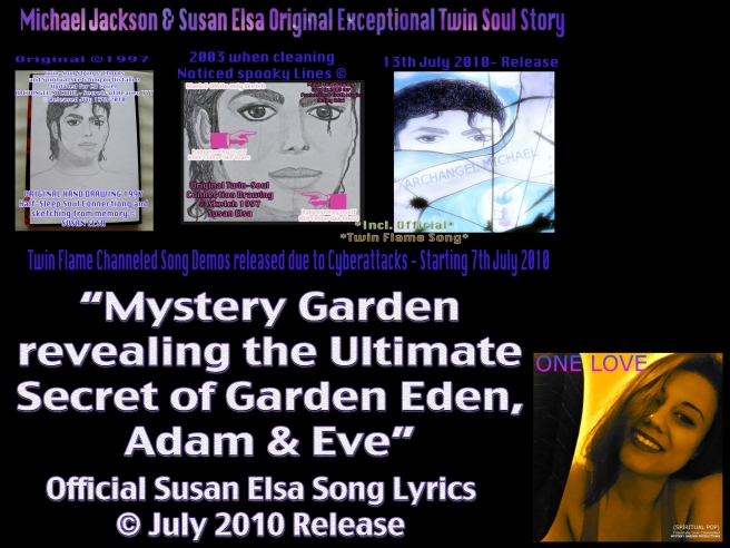 THE ORIGINAL MICHAEL JACKSON TWIN FLAME SOUL STORY AND COPYRIGHTS © 2010