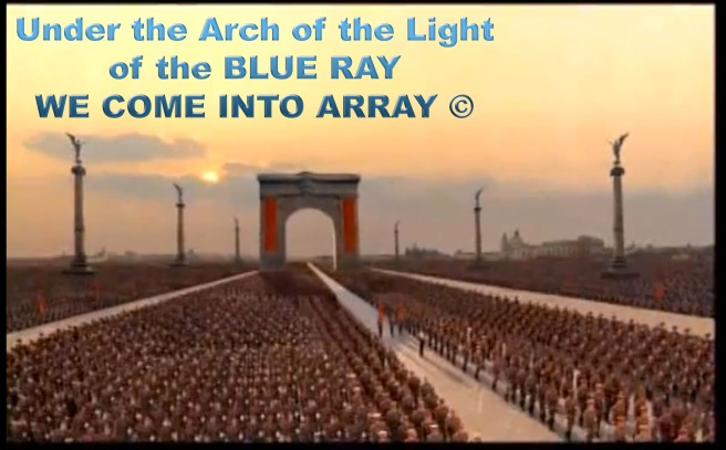 HIStory Teaser: The Archangel Michael Array under the Arch with Angel Pillars ©