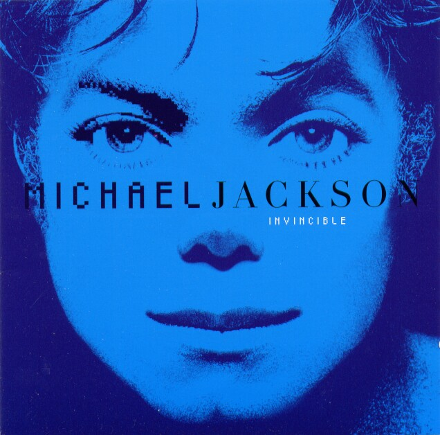Michael Jackson´s Invincible Album Cover Art in BLUE - Pop Art Styles hinting at Diana Ross Blue Album as a symbolic Message for his True Twin Flame Soul