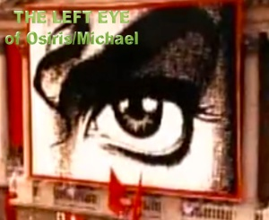 HIStory Left Eye © Michael Jackson Twin Soul Cheek Mark Data © Explanations of Ancient Twin Flame Information Susan Elsa Past Life Memory and Physical Cheek Marks THE EGYPTIAN EYE