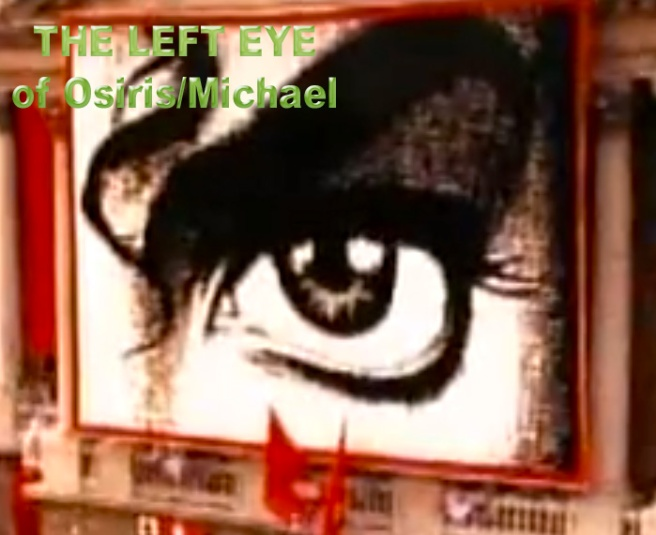 HIStory Left Eye © Michael Jackson Twin Soul Cheek Mark Data ©