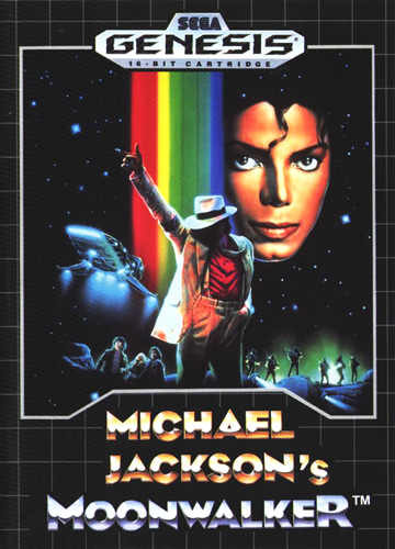 Michael Jackson´s Moonwalker Film and Game by SEGA Genesis