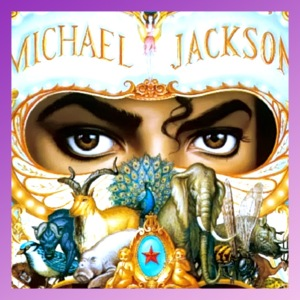 Michael Jackson´s Dangerous Album Cover- Close Up and Focus on Eyes only