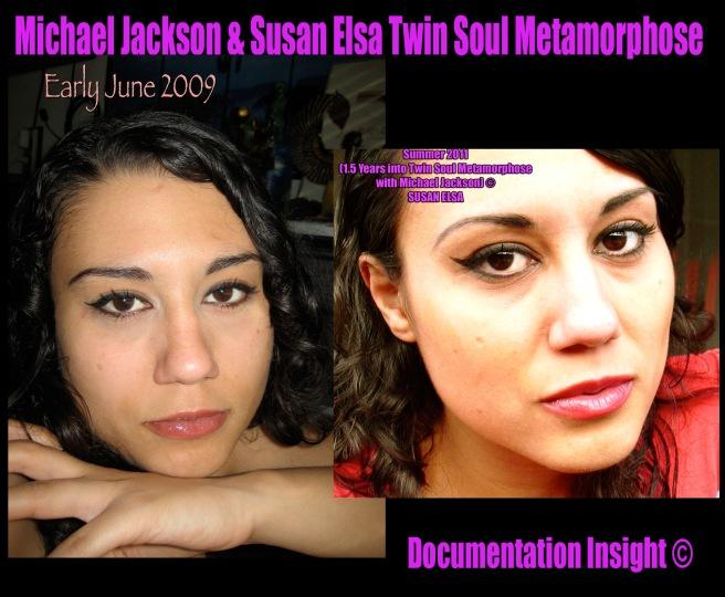Michael Jackson Susan Elsa Twin Soul Metamorphose Documentation Insight ©