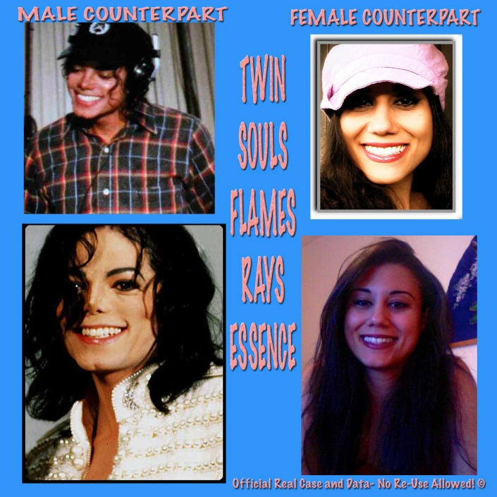 Twin Souls Appearance Documentation: Michael Jackson and Susan Elsa Merging ©  Any Abuses of Susan Elsa´s Original Data will receive legal Complaints now