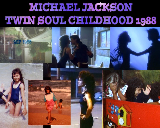 1988 Twin Childhood MJ: Michael Jackson: Twin Soul Childhood 1988 *The Way You Me Feel Looks* © Susan Elsa Childhood Vacation Photos SPAIN