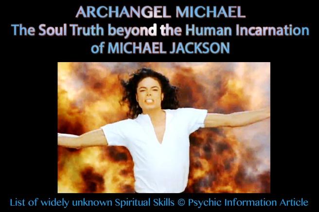 Archangel Michael: Soul Truth Beyond Michael Jackson- The Human Incarnation of the Angel © 777