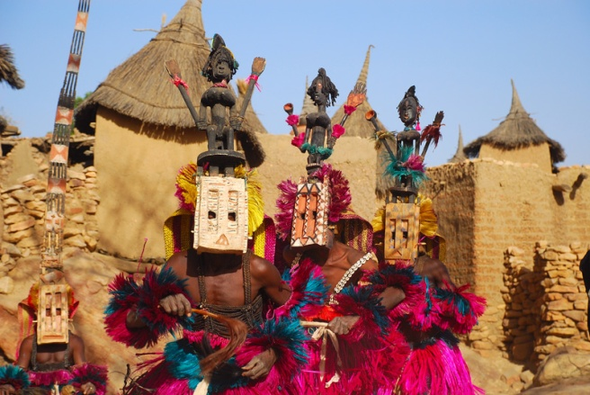 Michael Jacksons Liberian Girl and the Dogon Girl Expression in Songs: Dogon Tribe Masks Ritual Dances