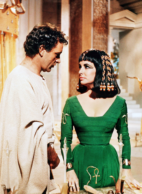 Elizabeth Taylor as Ancient Egyptian Cleopatra with her Soul Mate Richard Burton - Rare New Spiritual Information and Twin Soul News-