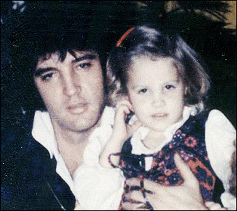 Lisa Marie Presley Presley With Daugther Lisa