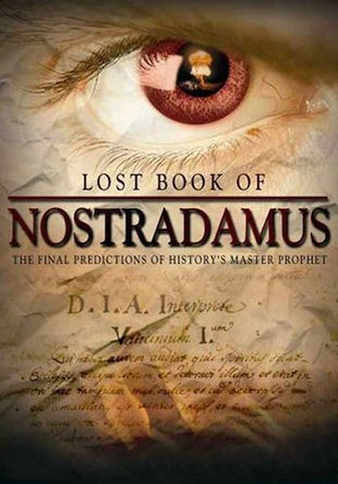Lost Book of Nostradamus Film Poster 2007 for educational Purpose- THE RIGHT EYE OF TRUTH