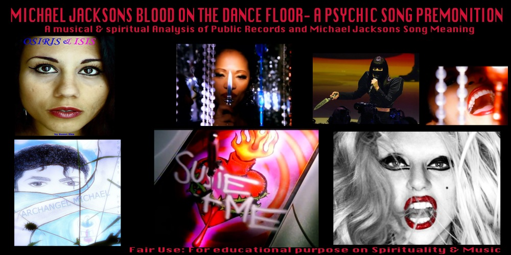 Michael Jackson Blood on the Dancefloor Meaning Song Video