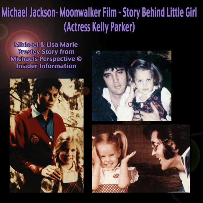 Michael Jackson Kelly Parker plays Lisa Marie Presley as Child © Private Information shared by Susan Elsa