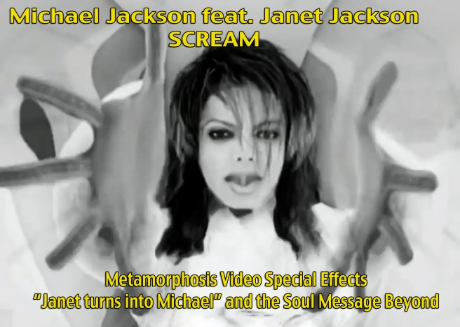Michael Jackson Metamorphosis Scream Twin Souls Flames Premonitions feat. Janet Jackson- Song and Video Analysis and Spiritual Information Susan Elsa ©