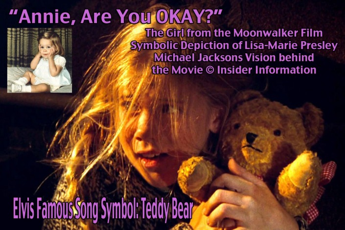 Michael Jackson Moonwalker Movie: Insider Information- Girl in Film depicts Lisa Marie Presley- Annie Katie Kelly ©