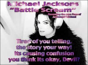 Michael Jackson Scream Archangel Michael Vs Devil: Spiritual Meaning Insider Information ©