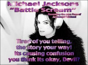 Michael Jackson Scream Archangel Michael Vs Devil: Spiritual Meaning Insider Information ©