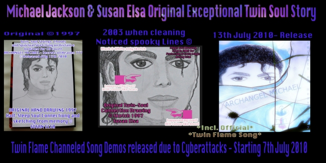 Michael Jackson Susan Elsa Original Exceptional Twin Soul Story Information Releases Copyrights Data © 2003-2010
