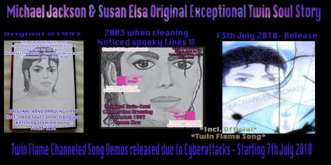 Michael Jackson Susan Elsa Original Exceptional Twin Soul Story Information Releases Copyrights Data © 2003-2010