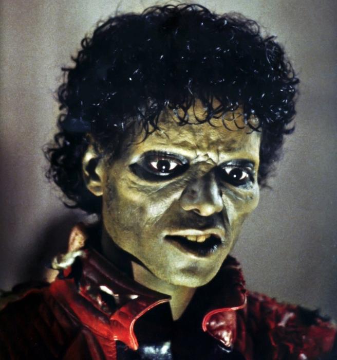 Michael-THE-THRILLER-GREEN MAN OSIRIS © Susan Elsa Special Thriller Series Information