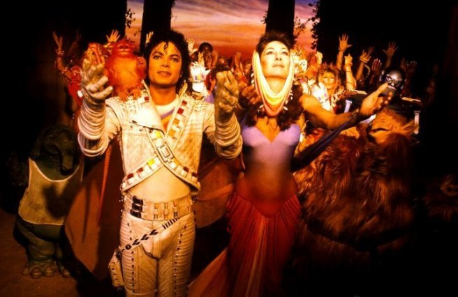 Michael Jackson Twin Flame Captain EO Angelica Another Part of Me Sending Major Love Picture