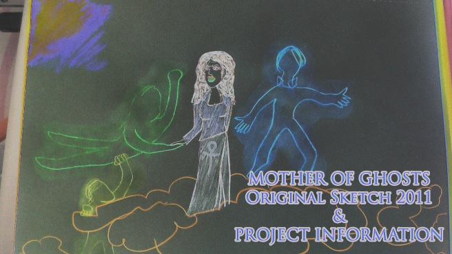 Susan Elsa Mother of Ghosts 2011 Concept Sketch © Mystery Garden Productions Property