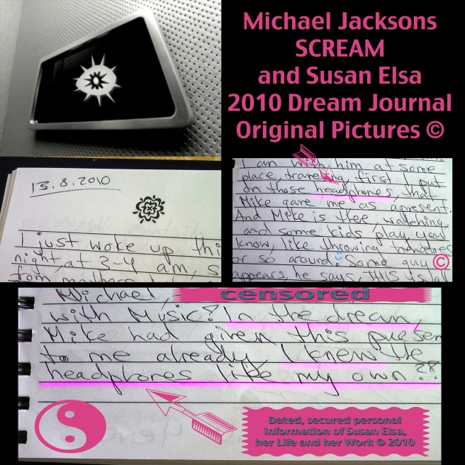 original-headphone-dream-susan-elsa-michael-jackson-twin-soul-data-2010 © Story behind Music Releases feat. Susan´s Version of MJ´s famous Scream Vocals and Themes