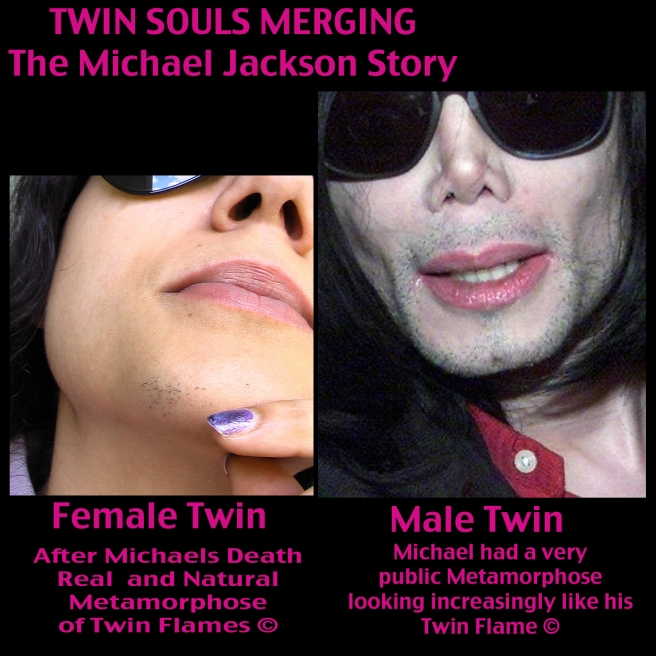 Michael Jacksons True Life Story: Real Twin Flame Metamorphose Natural Soul Merging © Evidence Images Photos Pictures