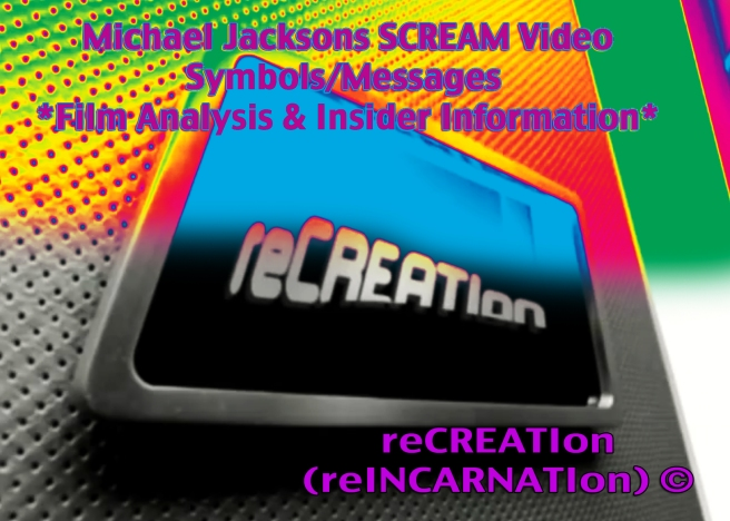 Michael Jackson Scream Video Analysis: Reincarnation Information Announcement about Twin Flames from ancient Egypt