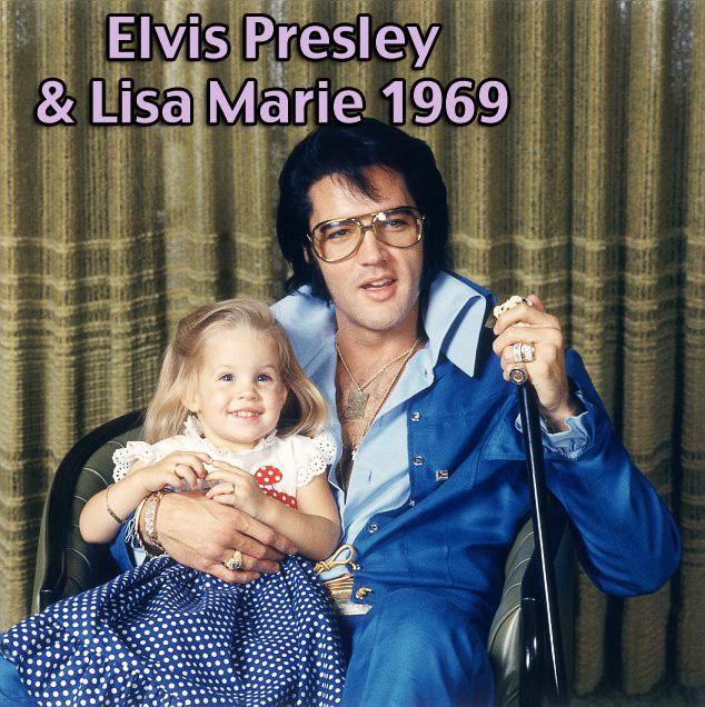 Elvis Presley and Lisa-Marie - Michael Jackson´s Visions behind Girl in Moonwalker Movie Kelly Katie Annie