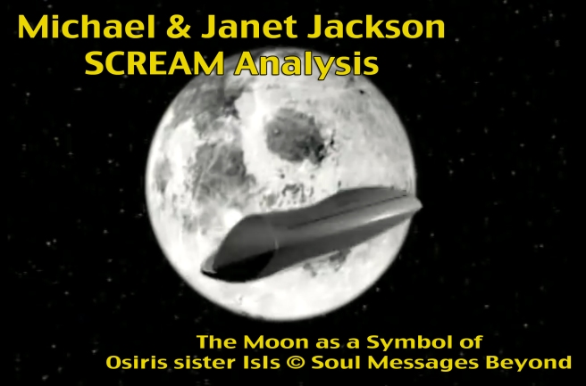 Scream Moon IsIs Osiris Symbols Sister Brother Janet Michael Jackson