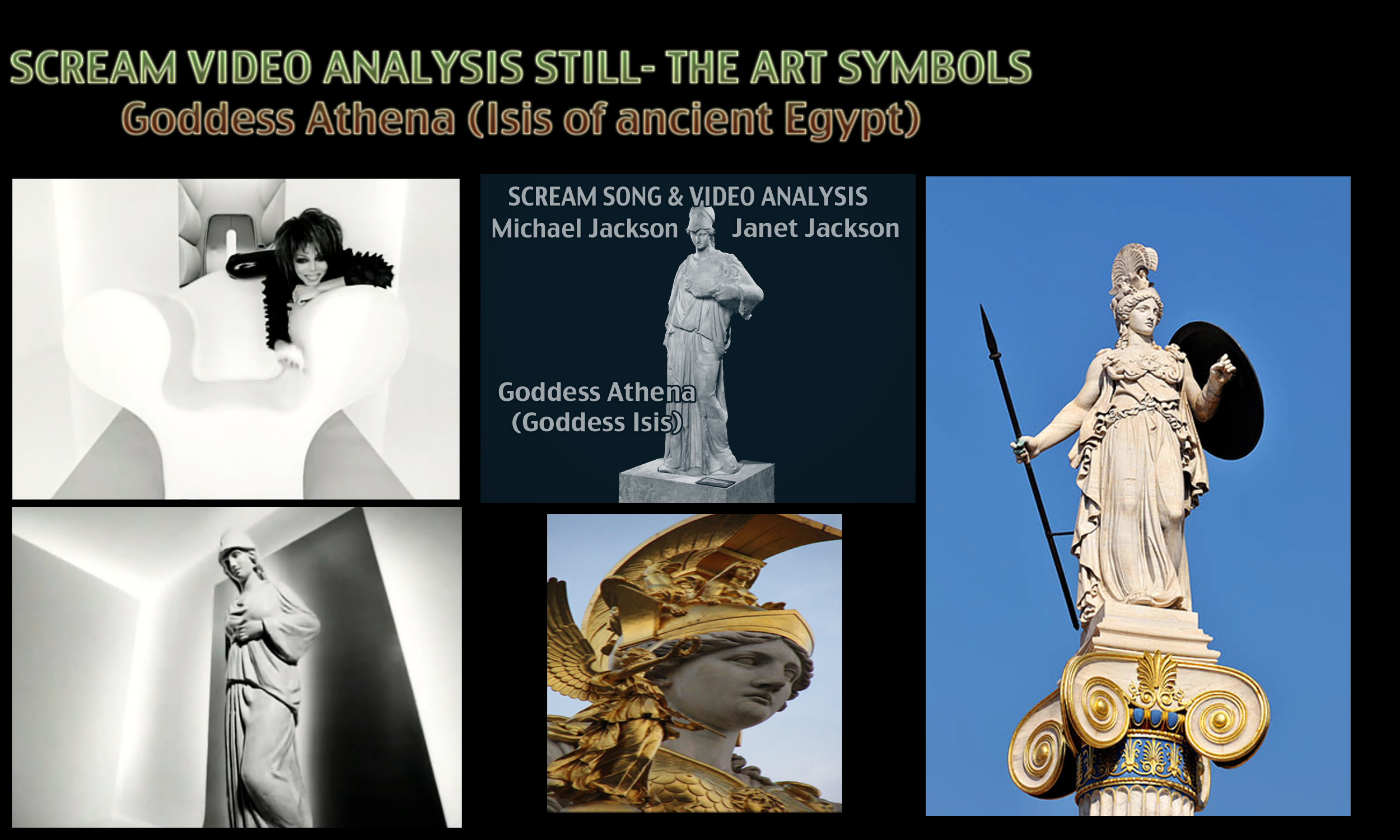 michael jackson s knowledge about the city of athena venus and