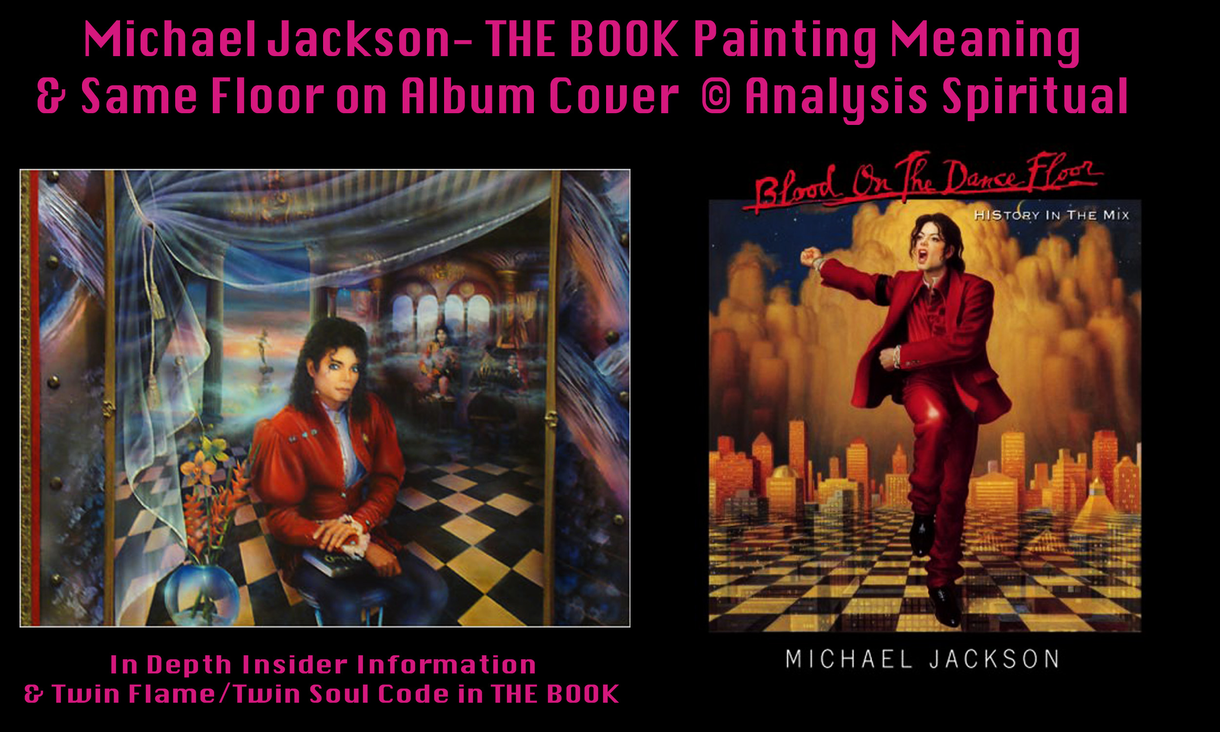 Michael jacksons blood on the dance floor visionary for On the floor meaning
