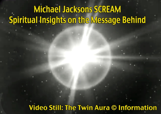 The Twin Aura depicted in Michael Jackson feat Janet Jackson SCREAM *Twin Soul Aura* ©