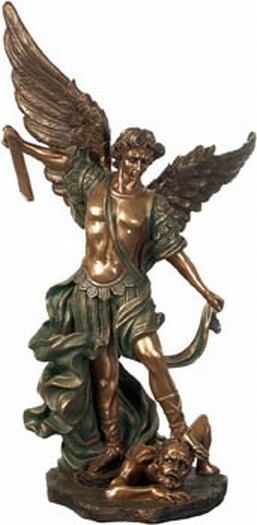 Erzengel-Michael-Educational Archangel Michael Sculpture Photo