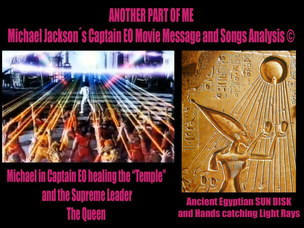 Another Part of Me-Archangel Michael Twin Flame Planet Healing Mission and Temple Symbolism Analysis Film Songs ©