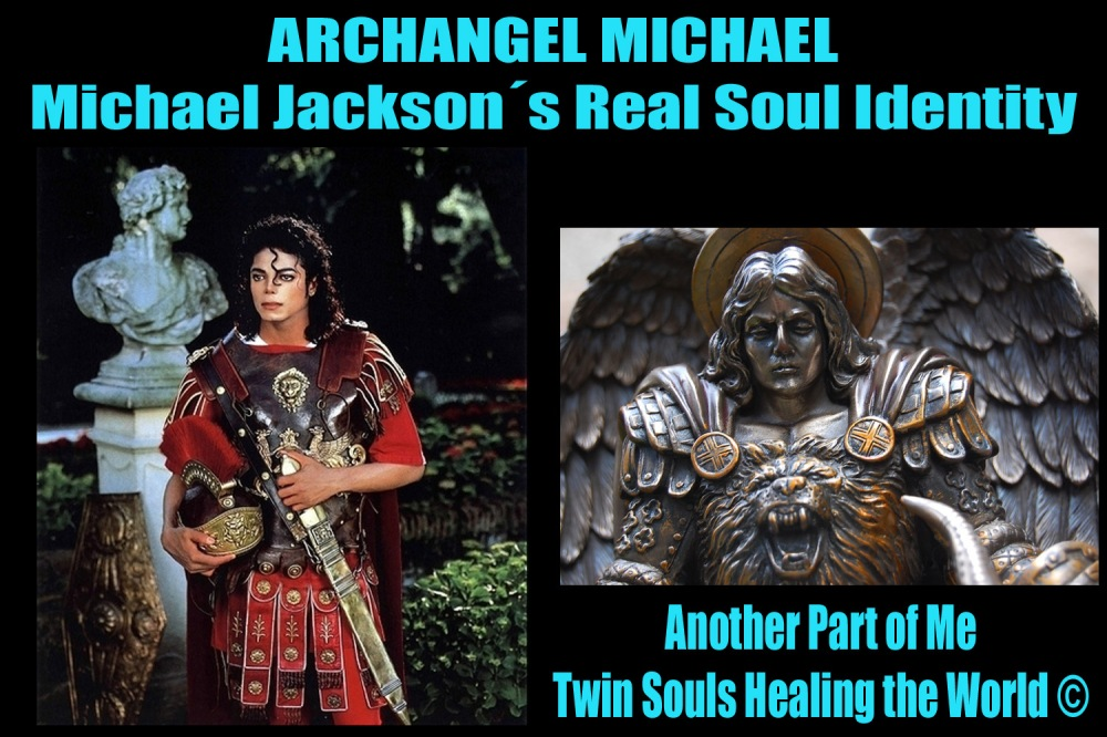 Archangel Michael Jackson Lion Heart Symbol: Another Part of Me- Twin Souls Healing the World