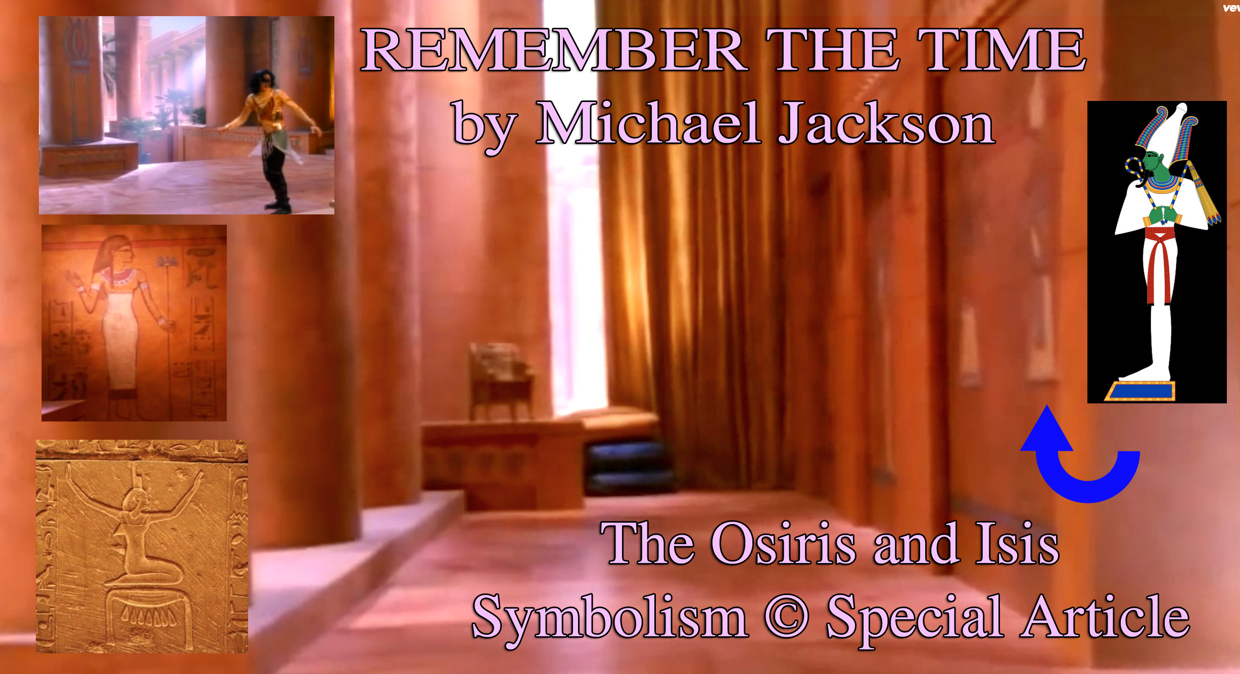 Michael Jackson And The Original Twin Soul Flame Story Of Osiris And