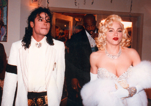 Michael Jackson: Madonna was the Inspiration for Dangerous Song Girl Message - Oscars Date BAD-Dangerous Years Era