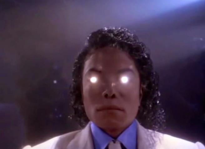 Michael Jacksons MOONWALKER: Robot Transformation Scene- Archangel Michael Depictions © Special Article