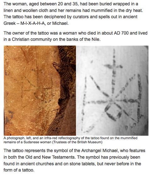 Ancient Mummy depicts extraordinary Ancient Archangel Michael/Osiris Tattoo- Susan Elsa Michael Jackson Channeling Precision © 2011/2014 Special Evidence Twin Flame Soul Truth