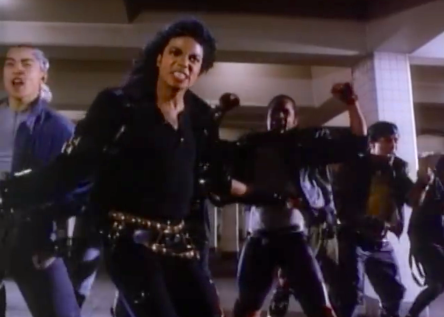 Michael Jackson resurfaces after Thriller with his Album BAD displaying the Debut of his New Signature Dance Move- The Crotch Grab © Twin Flame Soul Insights
