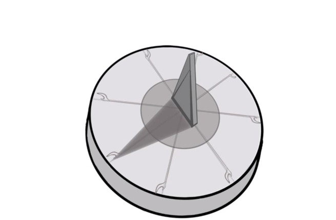 Susan Elsa Cartoon Film Directing Effect: Ancient Egyptian Sun Dial for Film Transition Storyboard- I REMEMBER Michael Jackson Past Life Story