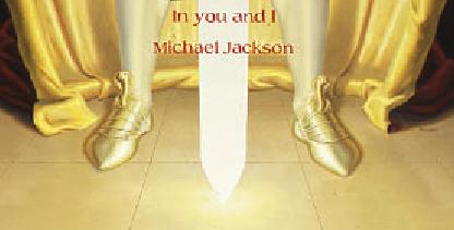 Michael Jackson Painting Neverland: Symbolism of Osiris ancient Egypt and Archangel Michael © Susan Elsa Twin Flame Information