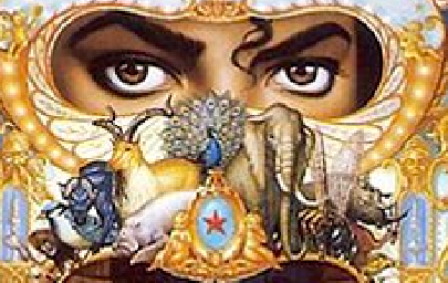 Michael Jackson Dangerous Album Cover Art Meaning: The Eyes and the Star- Twin Angels © Twin Flames Ancient Egypt Mythology